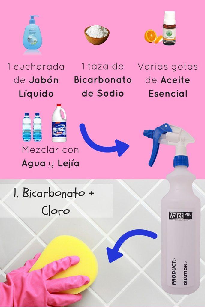 5 formas de eliminar el moho de la pared del baño