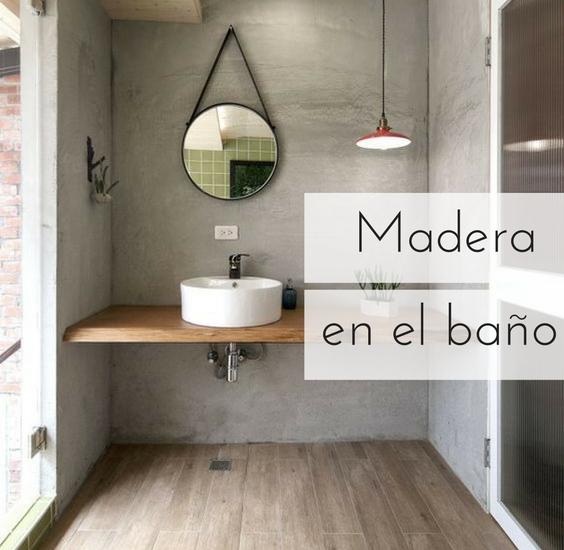 Madera en el ba o qu mantenimiento y cuidados necesita for Como limpiar bien el bano