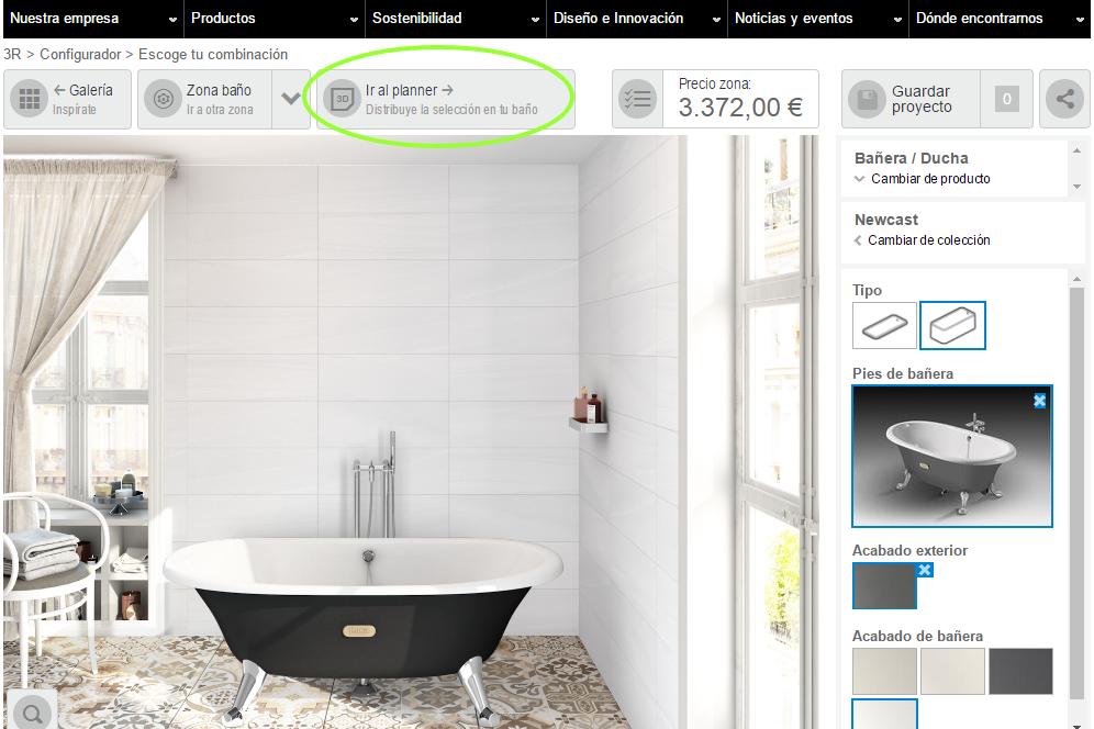 Diseña tu baño con ROCA - Comunidad PROINCO